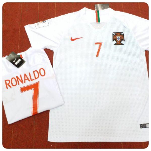 6c8176bf 2018 PORTUGAL WORLD CUP AWAY FOOTBALL SHIRT - Sports N Sports