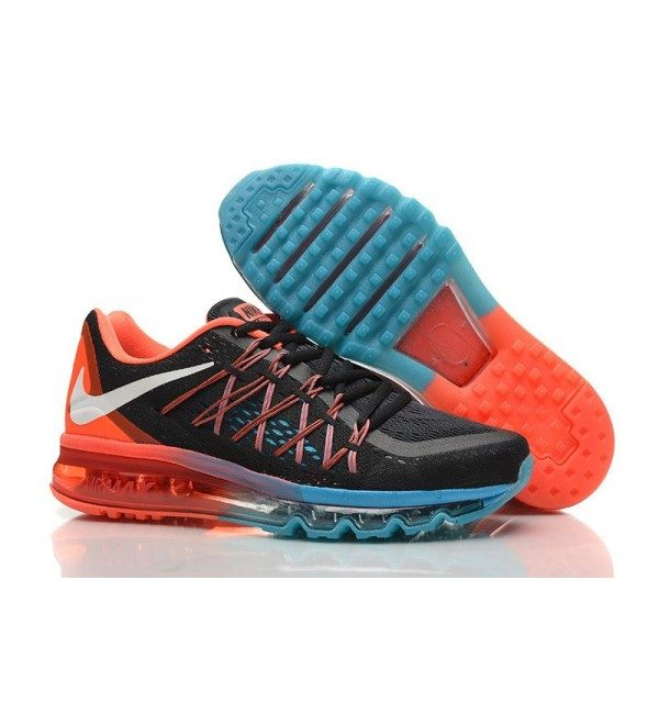 sports shoes 3033e d26c2 NEW NIKE AIR MAX 2015 RUNNING SHOES – BLACK RED JADE