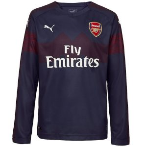 2018-2019 Arsenal Away Long Sleeve Shirt