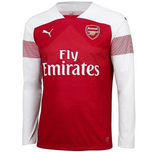 2018-2019 Arsenal Home Long Sleeve Shirt