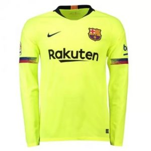 2018-2019-Barcelona-Away-Long-Sleeve-Shirt
