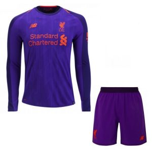 2018-2019 Liverpool Away Long Sleeve Shirt