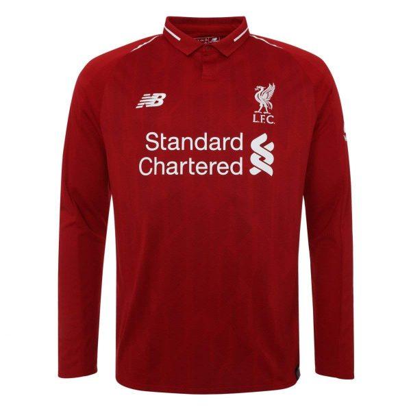 2018-2019 Liverpool Home Long Sleeve Shirt