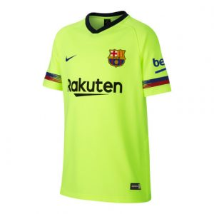 2018-2019 Barcelona Away Half Sleeve Shirt