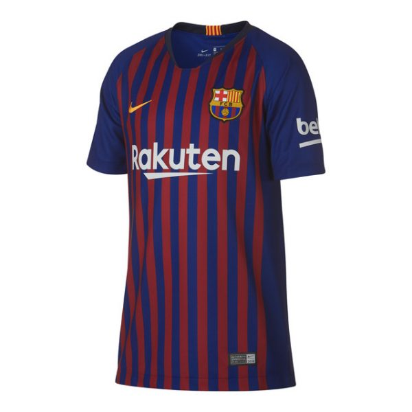 2018-2019 Barcelona Home Half Sleeve Shirt