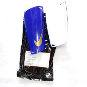 Mercurial Blue Shin Guards