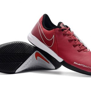 Phantom Vision IC Football Shoes - Wine Red-Silver