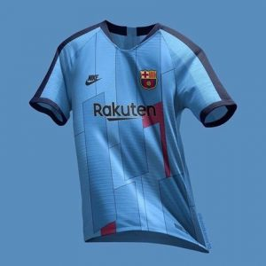 Barça's third kit for the 2019/2020