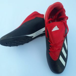 X 19.4 IN Futsal Boot red/black
