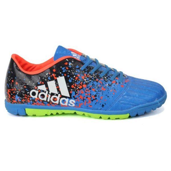buy online 6e6b9 2696d Nsg Black Futsal X Adidas Techfit Shoes Blue And Orange 0Twx5Yaq